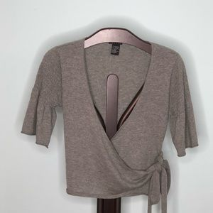 THEORY 100% Cashmere Ballet Wrap Size M/Fits Small